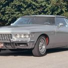 1972 Buick Riviera Silver poss par papa
