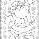 Pusheen de noel - Christmas Coloring Pages for Adults - Just Color