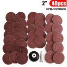 2 pulgadas 40 piezas 40/80/120/240 grano tipo r...