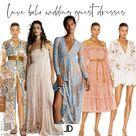 Boho Wedding Guest Dress || Lindsey Denver