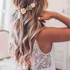 39 Ways To Wear Wedding Flower Crowns & Hair Accessories
