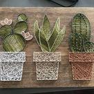 Einfache Kunst selber machen geht so leicht mit diesen DIY Bastelideen