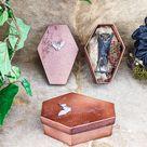 N27n (pj) Taxidermy Oddities Curiosities Real Bat Coffin Display collectible Decorative decor Macabre Preserved Specimen Goth Halloween