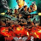 Metal Poster The Expendables 2