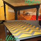 Chevron Table