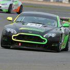 Poster Print. CJ6 3198 Ario Brunet, Edward Brunet, Aston Martin GT4