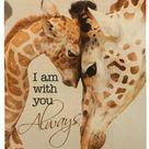 Giraffe wooden print | Zazzle.com