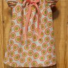 Monogrammed Peasant Dress for Baby/Toddler/Girl, Boutique Style Dress, Spring Dress, Easter Dress, Summer Dress, Sunflower Dress