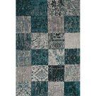 Teppich Zendaya in Blau/Grau