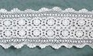 White Crocheted Doily Table Runner - Crochet and Lace Doilies - Home Decor