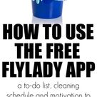 How To Use The FlyLady App to Easily Keep Your House Guest-Worthy