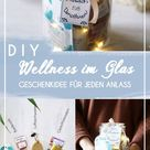 Wellness im Glas: Geschenkidee zu Weihnachten + Free Printables