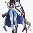 Anime Girl Warrior Png, Transparent Png , Transparent Png Image   PNGitem