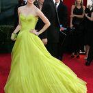 Zhang Ziyi in Light Green Gown Dress