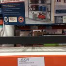 Industrial shelving system from Costco. 77W x 24D x 72H