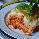 Klassische Lasagne Vegetarisch