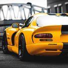 Dodge viper, rear, sports car wallpaper