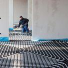 Underfloor Heating And Cooling Stock Image - Image of indoor, industrial: 18491329