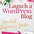 How to start a blog so you can work from home.