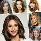 10 Medium Hairstyle With Bangs 2019