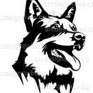 Vector DOG Blue Heeler Head AI Png Pdf Eps Svg Dxf Jpg | Etsy