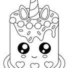 Free & Easy To Print Cake Coloring Pages