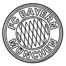 Ausmalbilder Fußball, bild Bayern Munchen