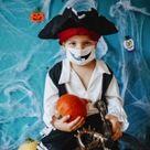 Kostüm Idee mit Maske   Halloween 2020 mit Atemschutz