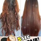 💁♀️Transform damaged and brittle hair in seconds💁♀️