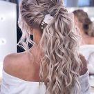 Flower hair clip for wedding hairstyle, Bridal hair vine, Bridal hair piece, Bridal hair comb, Wedding headpiece, Boho bridal headpiece