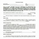 Contractors Contract Template Free  | Shooters Journal