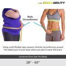 Adjustable Lower Back & Spine Pain Lumbosacral Corset Brace