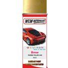 Bmw 3 Series Phoenix Yellow 445 Car Aerosol Spray Paint Rattle Can   Single Basecoat Aerosol Spray 400ML