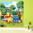 Papier peint XL intisse Winnie l'Ourson Disney 180X202 CM