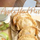 Homemade Apple Hand Pies (freezer friendly)