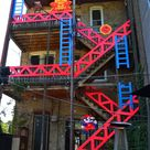 Check out Replay Boystown's new 'Donkey Kong' patio