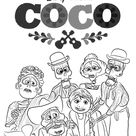 Coco Coloring Pages - Best Coloring Pages For Kids