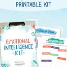 Emotional Intelligence Printable Activity Kit for Children