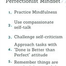 How To Stop Being a Perfectionist