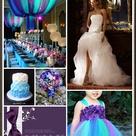 Bright Color Wedding