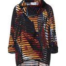 JOSEPH RIBKOFF Women's Suit jacket Ocher 16 US