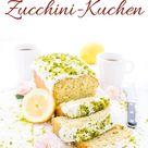 Zucchini-Kuchen Rezept - ganz frisch mit viel Zitrone - herzelieb