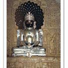 16 inch Photo. Statue in the Jain temple of Luderwa (Loduva)
