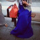 Blue Maxi Skirts