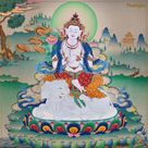 """𝗧𝗵𝗮𝗻𝗴𝗸𝗮 on Instagram: """"Bodhisattva in White Elephant  What actually means White Elephant in Buddhism!   In Buddhism the White elephant is believed to be one of…"""""""