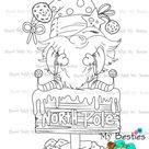 Instant Download My Besties  Gnome -Ville  Img14 My Bestie digi stamp