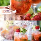 Amazing Strawberry Mojitos Recipe