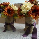 Purple Fall Weddings