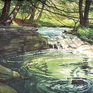 Watercolor Landscape Tutorial
