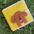 Busy Book For Toddler Peekaboo Toy Activity Book For Baby Quiet Book Felt Diy Book